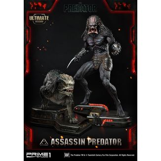 Estatua Assassin Predator Ultimate Version Depredador