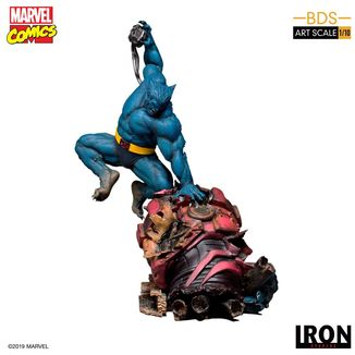 Estatua Beast Marvel Comics BDS Art Scale