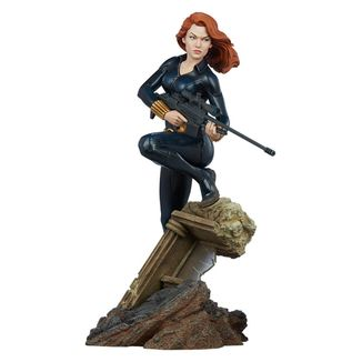 Black Widow Statue Avengers Assemble Marvel Comics