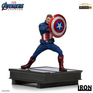 Estatua Captain America 2023 Vengadores Endgame BDS Art Scale