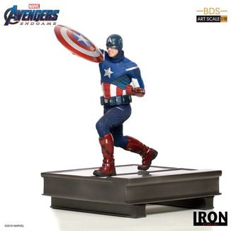 Estatua Captain America Vengadores Endgame BDS Art Scale