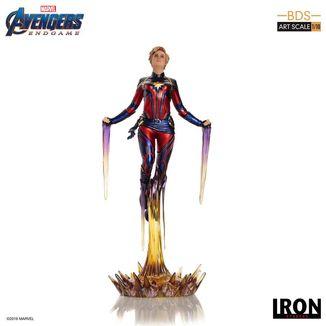 Estatua Captain Marvel Vengadores Endgame BDS Art Scale