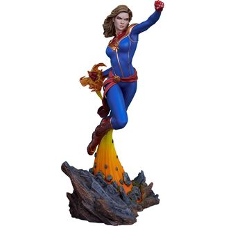 Captain Marvel Statue Avengers Assemble Marvel Comics