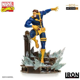 Estatua Ciclope Marvel Comics BDS Art Scale
