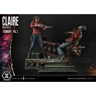 Estatua Claire Redfield Resident Evil 2