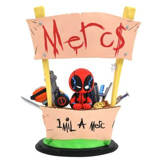Deadpool Merc For Hire Statue Marvel Animated