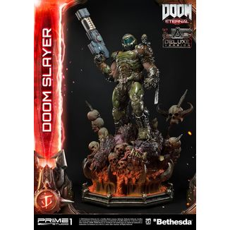 Doom Slayer Deluxe Version Statue Doom Eternal