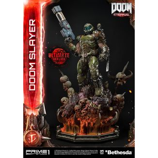 Estatua Doom Slayer Ultimate Version Doom Eternal