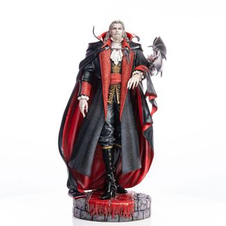 Estatua Dracula Castlevania Symphony of the Night
