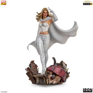 Estatua Emma Frost Marvel Comics BDS Art Scale
