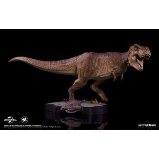 Estatua Final Battle Tyrannosaurus Rex Jurassic World