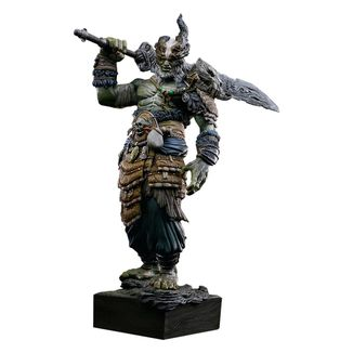 Golden Horn Statue Asura Online