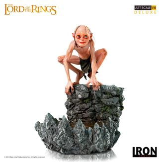Gollum Statue The Lord of the Rings Deluxe Art Scale