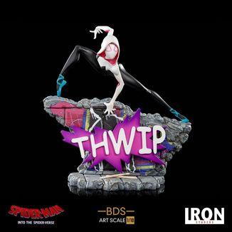 Estatua Gwen Stacy Spider Man Un nuevo Universo BDS Art Scale