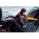 Hiccup & Toothless Statue How to train your Dragon