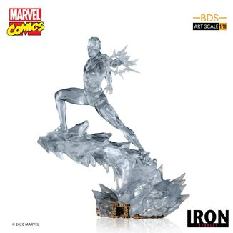 Estatua Iceman Marvel Comics BDS Art Scale