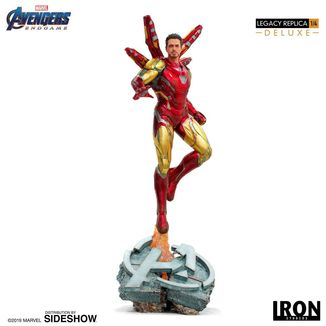 Estatua Iron Man Mark LXXXV Deluxe Vengadores Endgame Legacy Replica