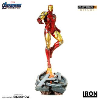 Estatua Iron Man Mark LXXXV Vengadores Endgame Legacy Replica