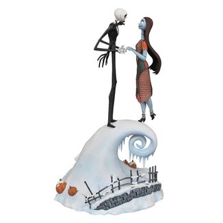 Jack & Sally Statue Nightmare before Christmas Milestones