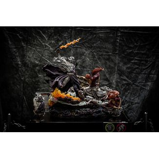 Estatua Kenshin vs Shishio 25th Anniversary Edition Rurouni Kenshin Elite Exclusive