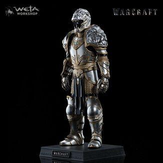 Estatua King Llane Armor Warcraft