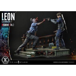 Leon S Keneddy Statue Resident Evil 2