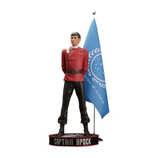 Leonard Nimoy as Captain Spock Statue Star Trek II