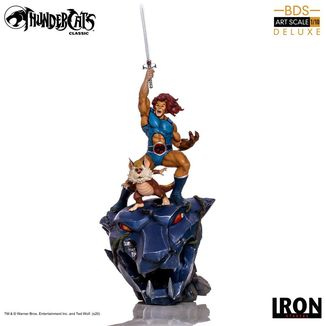 Estatua Lion-O & Snarf Deluxe Thundercats BDS Art Scale