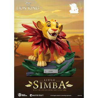 Little Simba Statue Disney Lion King Master Craft
