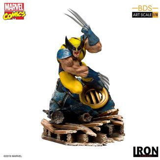 Wolverine Statue Marvel Comics BDS Art Scale