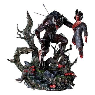 Estatua Lycan The Creepy Monster Nightmare Collections
