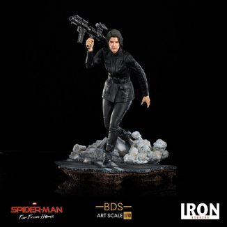 Maria Hill Statue Spider Man far from Home BDS Art Scale
