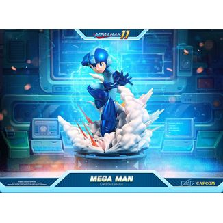 Estatua Mega Man 11