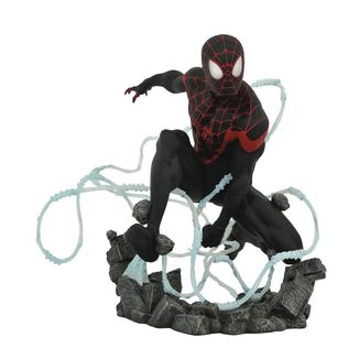 Miles Morales Spider Man Statue Marvel Comic Premier Collection