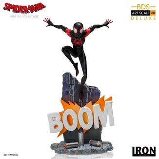 Estatua Miles Morales Spider Man Un nuevo Universo BDS Art Scale
