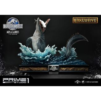 Estatua Mosasaurus Exclusive Version Jurassic World