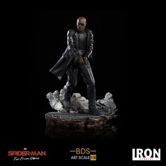 Estatua Nick Fury Spider Man Lejos de Casa BDS Art Scale