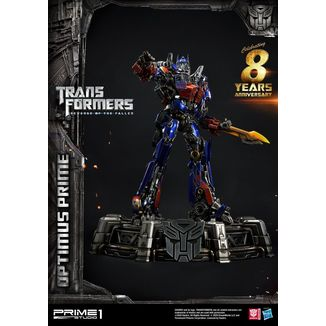 Optimus Prime Statue Transformers Revenge of the Fallen