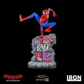 Estatua Peter B Parker Spider Man Un nuevo Universo BDS Art Scale