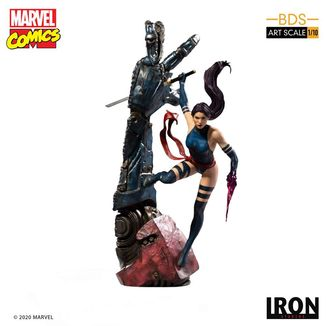 Estatua Psylocke Marvel Comics BDS Art Scale
