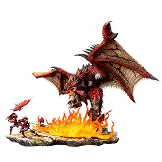 Estatua Rathalos The Fiery Bundle Monster Hunter