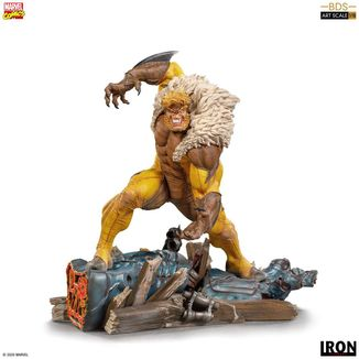 Sabretooth Statue Marvel Comics BDS Art Scale