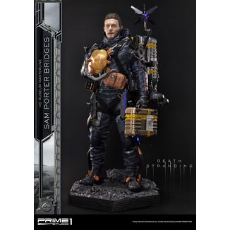 Estatua Sam Porter Bridges Death Stranding