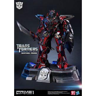Sentinel Primer Statue Transformers El Lado Oscuro de la Luna