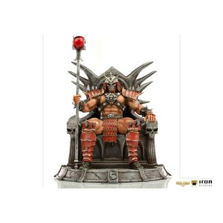 Shao Khan Statue Mortal Kombat BDS Deluxe Art Scale
