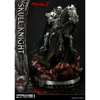 Skull Knight on Horseback Statue Berserk
