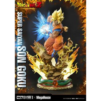 Son Goku SSJ Dragon Ball Z Statue Prime 1 x Megahouse