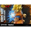 Estatua Son Goku SSJ Dragon Ball Z Mega Premium Masterline