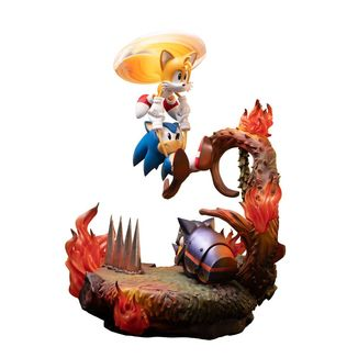Estatua Sonic & Tails Sonic the Hedgehog