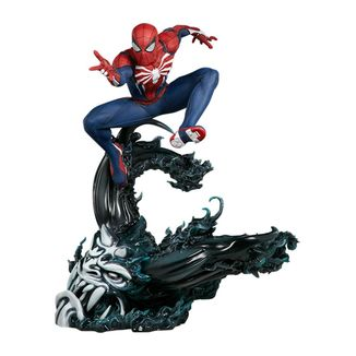 Estatua Spider Man Advanced Suit Marvel Spider Man
